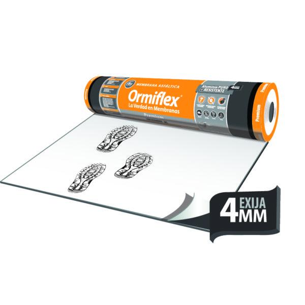 membrana asfaltica con geotextil de la linea premium de ormiflex